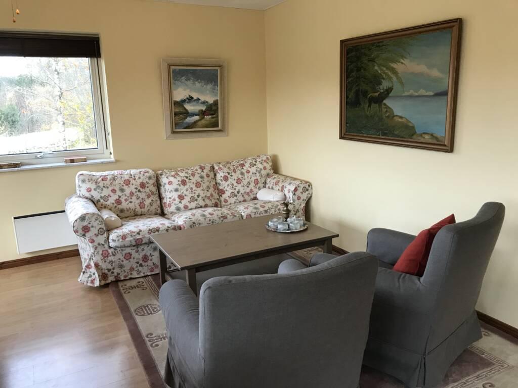 Sofa in Berghus, Ullstorps Stugor