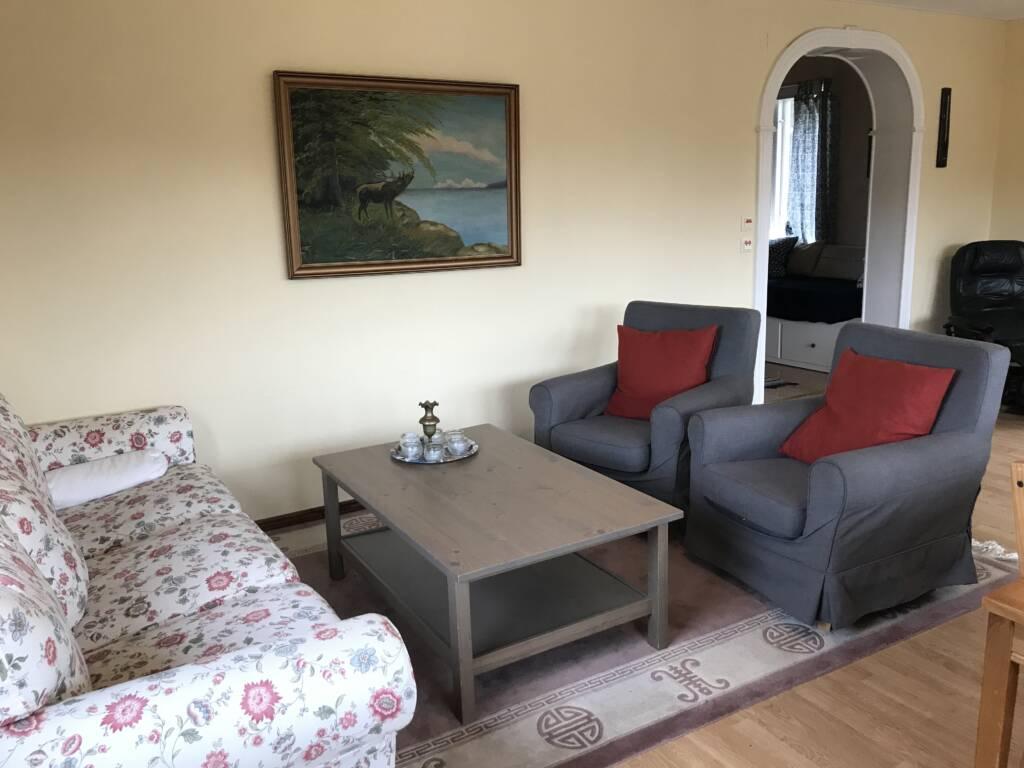 Sofa in Bergshus, Ullstorps Stugor