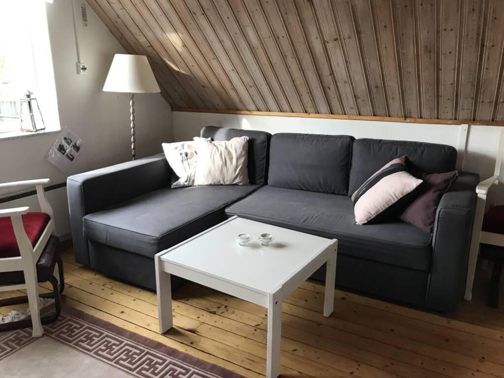 Living room Bergshus, Ullstorps Stugor