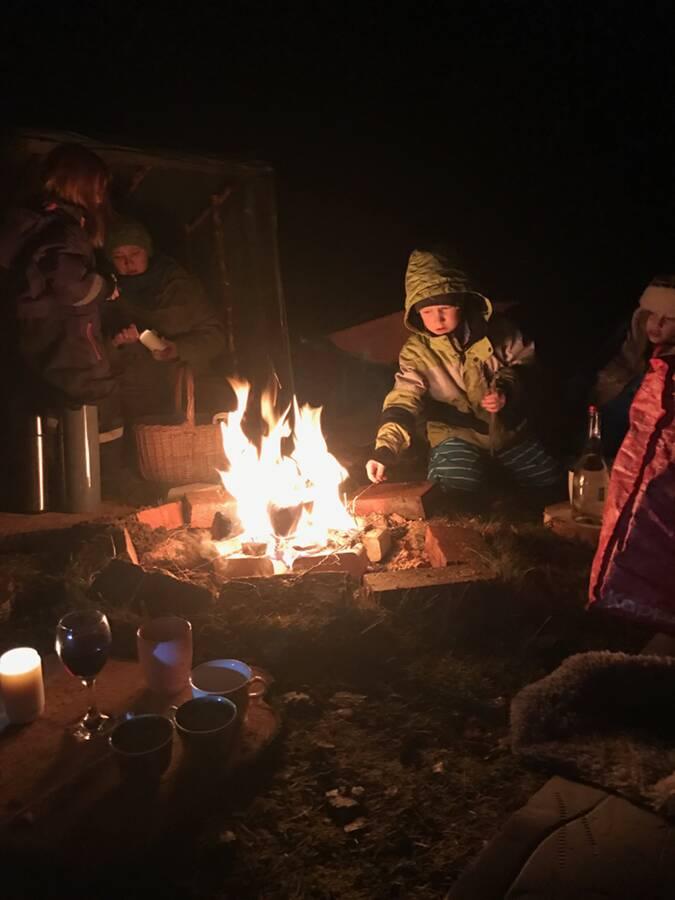 Wilderness adventure for the little ones Vildmarksäventyr för de små skåne